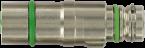 M12 MV-Einsatz geschirmt St. snap / Bu.