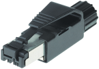 RJ45 ETHERNET 0° 4POL,SHIELDED