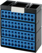 CUBE20 POTENTIAL TERMINAL BLOCK 4xBLUE