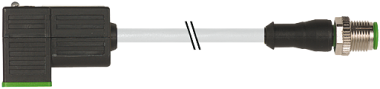 M12 St. ger. auf MSUD Ventilst. BF C 8,0 mm
