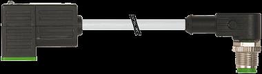 M12 MALE 90° / MSUD VALVE PLUG FORM CI 9.4 MM