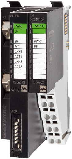 Cube20S Ethernet/IP Busknoten