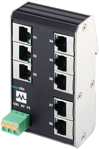 Xenterra 8TX unmanaged Switch 8 Port 1000Mbit
