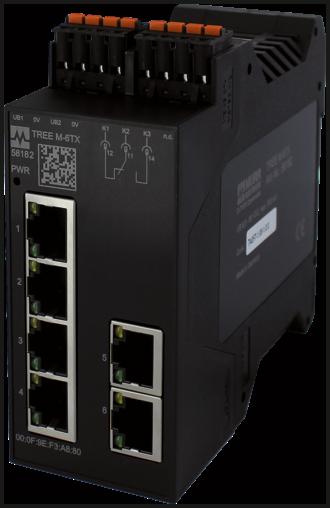 TREE M-6TX Lite managed Switch 6 Ports