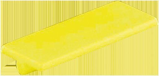 Bezeichnungsschild (gelb)