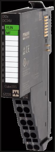 CUBE20S Analog output module AO2